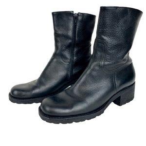 Gianni Bini Women's Ankle Zip Combat Style Boots